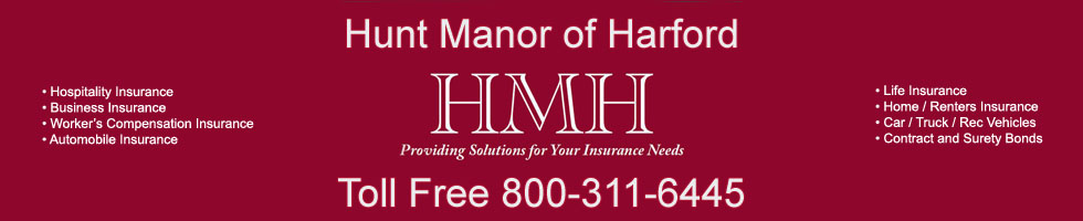 Hunt Manor of Harford - Insurance